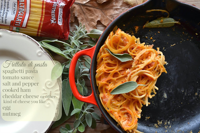 ricetta frittata di spaghetti