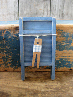 toy washboard in blue