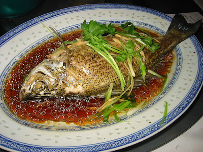 I want to tell you here is a common chinese steamed fish for Chinese steamed fish recipe