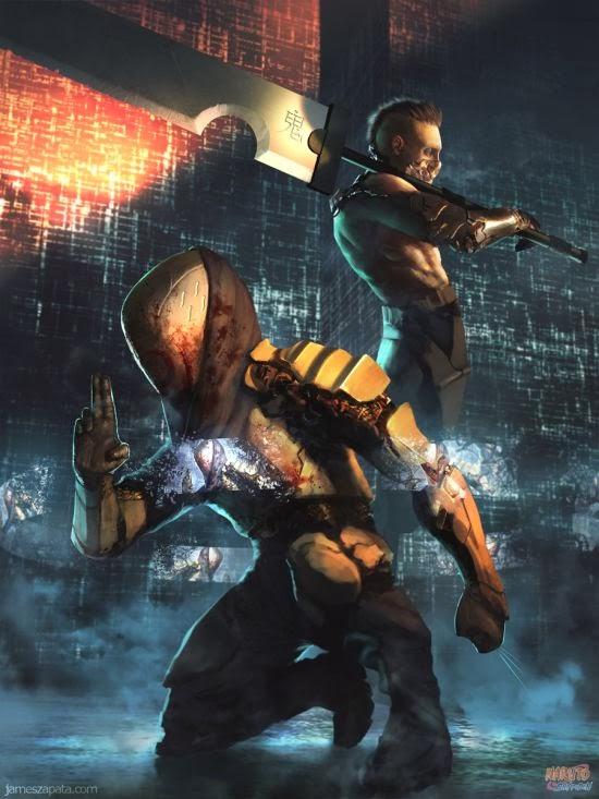 James Zapata deviantart ilustrações ficção científica cyberpunk futurista