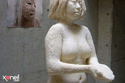 Tirinha Gordo Fresco: Veja a escultura feita com 1 milhão de grãos de arroz colados