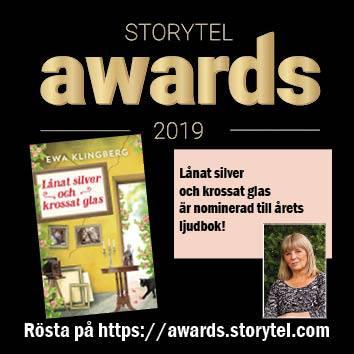Nominerad! Storytel awards