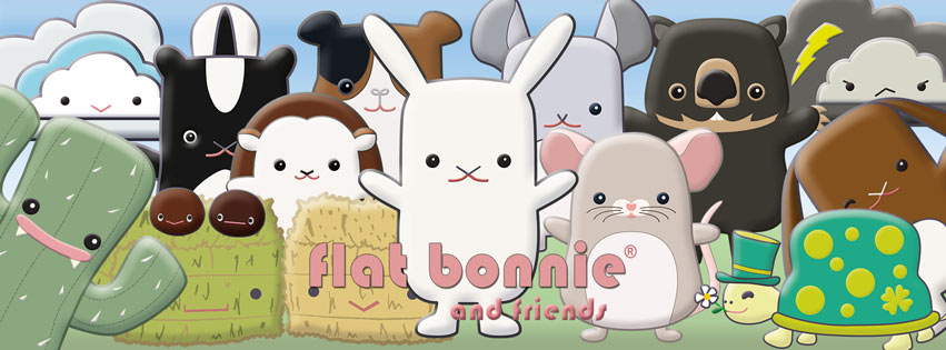 Flat Bonnie the Go Everywhere Rescue Bunny