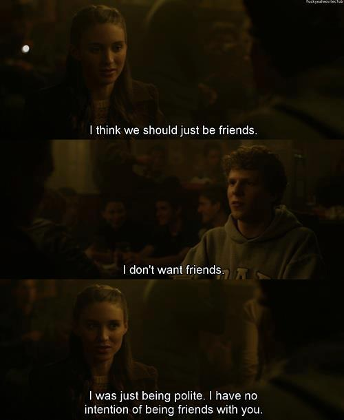 I think we should just be friends | Quotes and Movies
