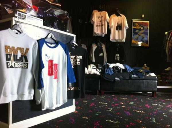 Kicks clothing store
