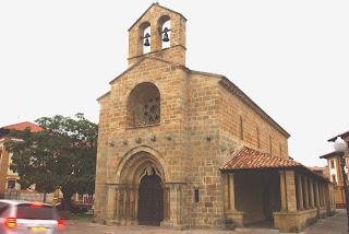 Villaviciosa, iglesia de Santa María de la Oliva