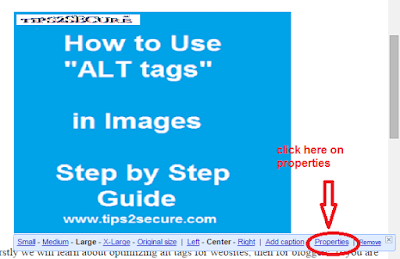 tutorial with screenshot how to use alt tags