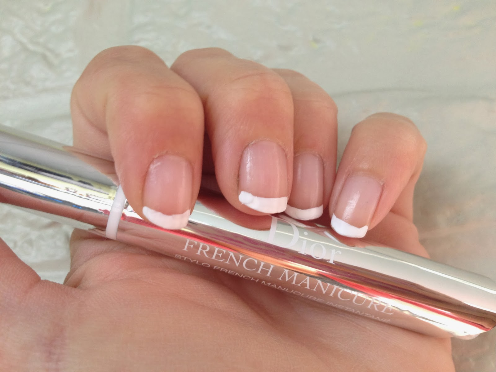 Sprinkles on a cupcake: Dior Instant French Manicure Pen