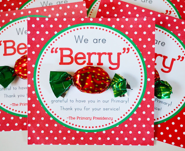 Craft sew create primary teacher berry thank you free for Thank you crafts for teachers