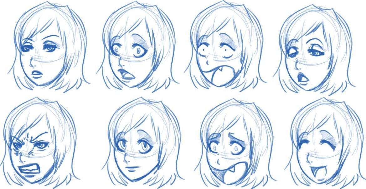 Manga Drawing Template 10930 | TRENDNET