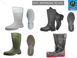 BOTA DE HULE IMPERMEABLE