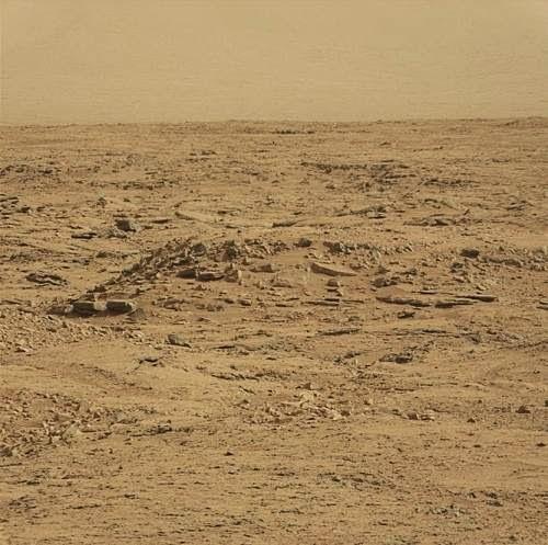foto de la superficie de Marte