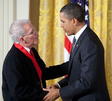 Teófilo Ruiz y Obama - Ampliar imagen