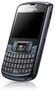 Samsung Mobile B7320: Awesome Combination of BlackBerry design and Windows Mobile OS on Samsung Phone