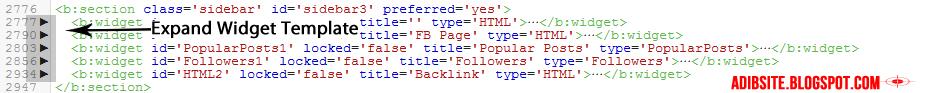 HTML Blogspot