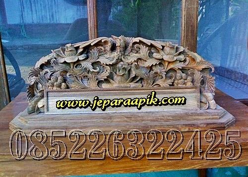 papan nama relief jepara