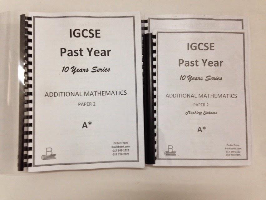 IGCSE Past Year Papers Mr Sai Mun