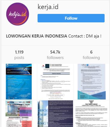 KERJA.ID - Lowongan Kerja Indonesia