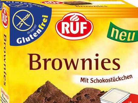 RUF Backmischungen für glutenfreie Brownies + helles Brot