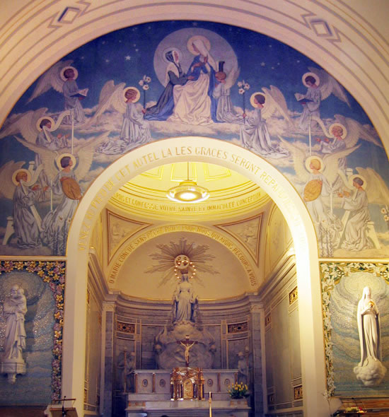 Laetare jerusalem oh maria sin pecado concebida - Poltrona frau rue du bac ...