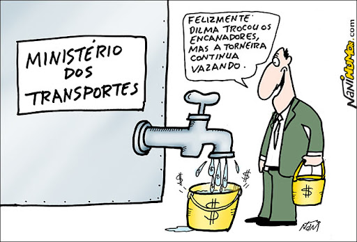 Gambiarras no ministério dos transportes