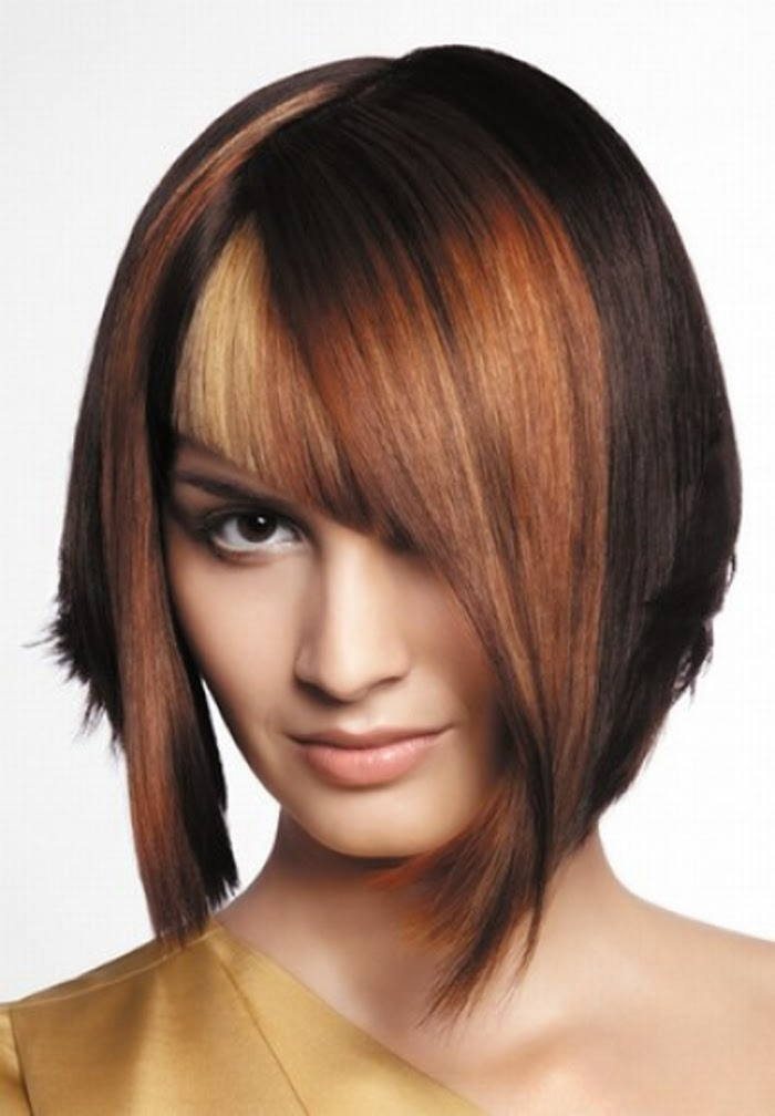 Short Bob Hairstyles with a Fringe