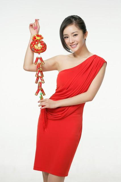 Dương Mịch, Xuân Nhâm Thìn, hình ảnh, chúc tết, 2012
