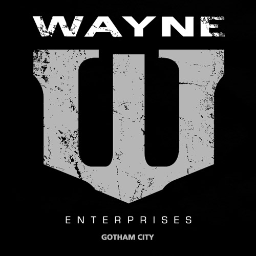 E também é patrocinado pela Wayne Enterprises!
