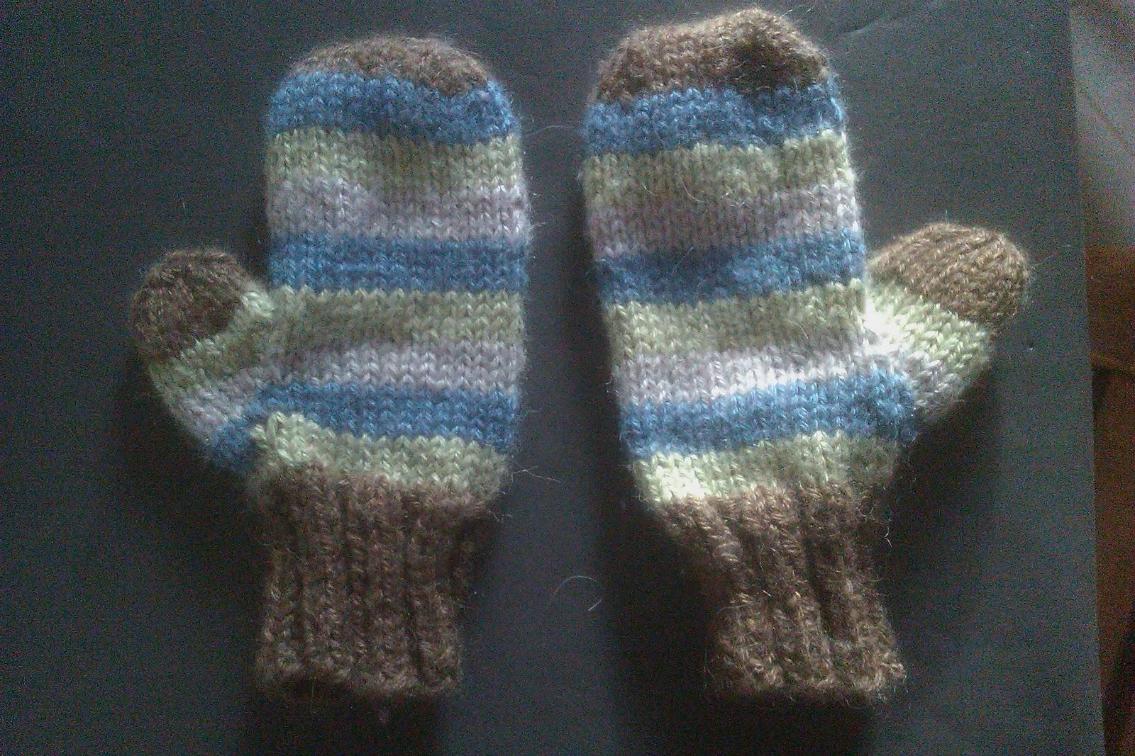 moufles bébé tricot gratuit