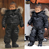 Kim Kardashian & North West rock matching Ski Outfits during family Vacation (Photos)