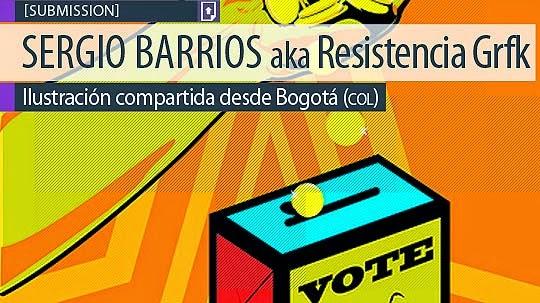 Diseño. Poder electoral de Resistencia Grfk