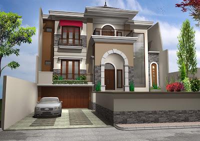 Model Rumah Mewah Idaman 2014