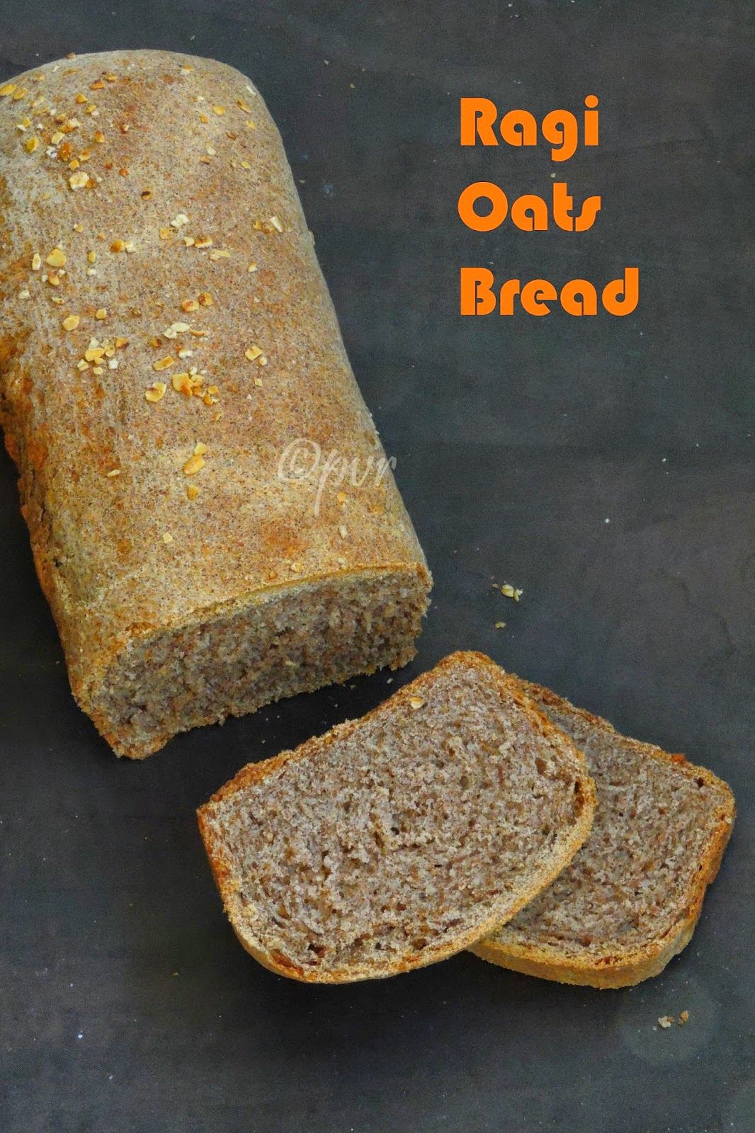 Finger Millet Oats Bread