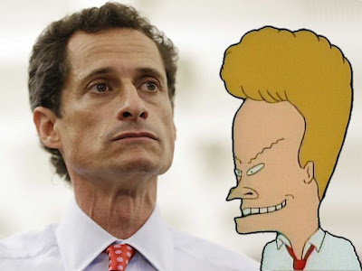 Anthony Weiner and Beavis