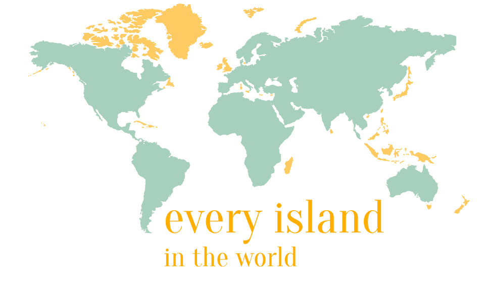 every island in the world