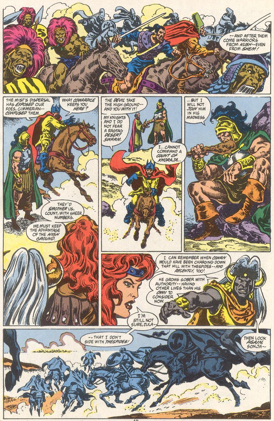Conan the Barbarian (1970) Issue #249 #261 - English 9