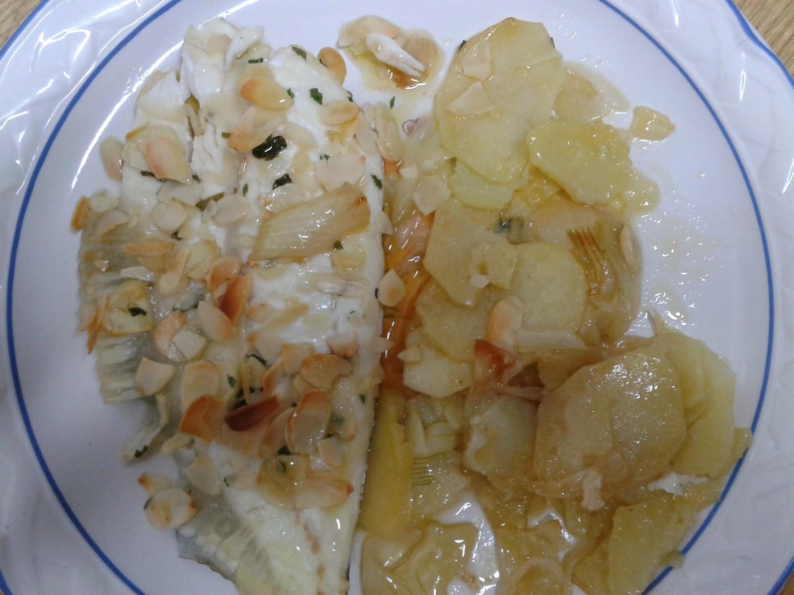 Como Cocinar El Rodaballo | La Cocina De Beli Rodaballo Al Horno Con Almendras