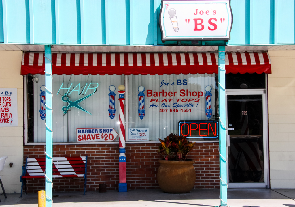 Barber Shops Open : ... barber open neon signs 32 x13 description open green barbers pole