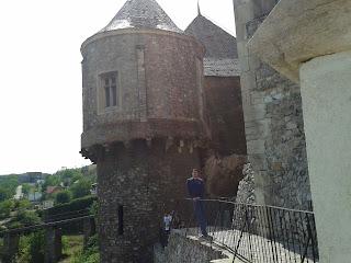 Castelul Huniarzilor: in spate