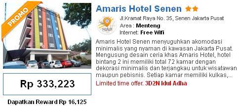 Berikut Adalah Daftar Hotel Murah Di Jakarta Sekitar Senen