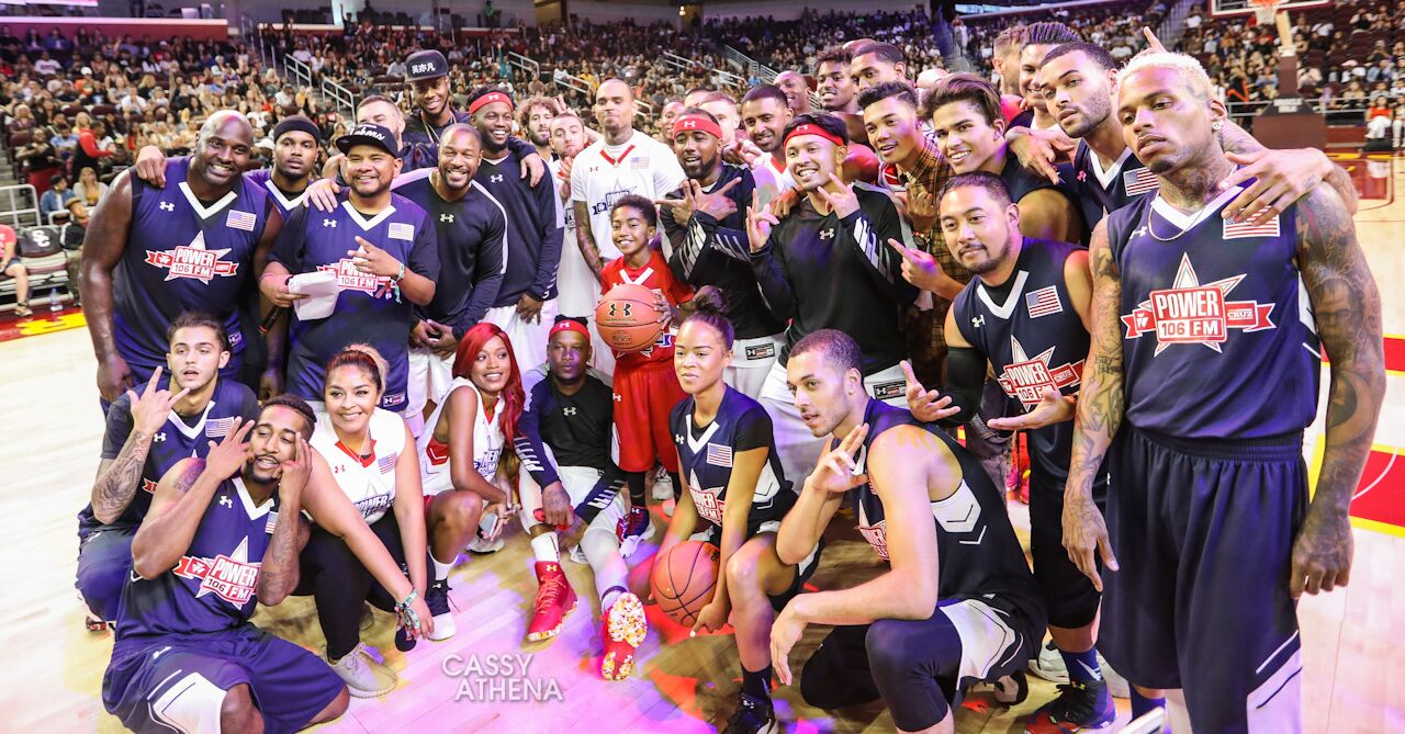 Swiperboy and VeNTUR BRV$$ @ Power 106 Celebrity Game