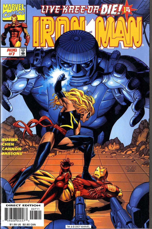 Captain America (1998) 7b Page 1