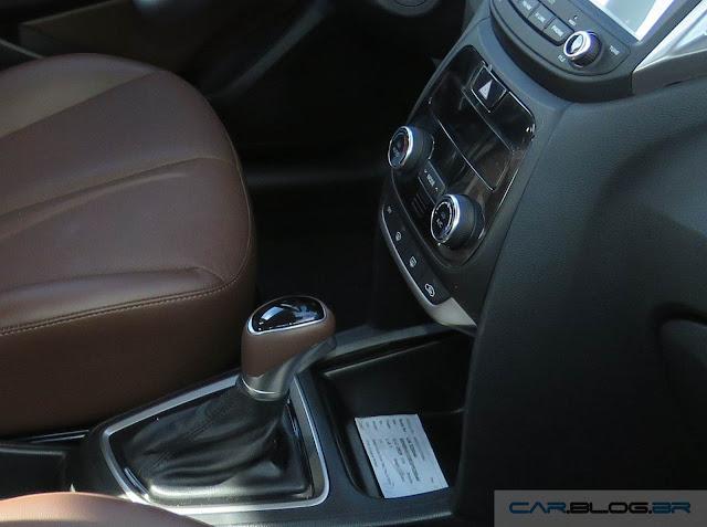 Hyundai HB20 2016 - interior marrom