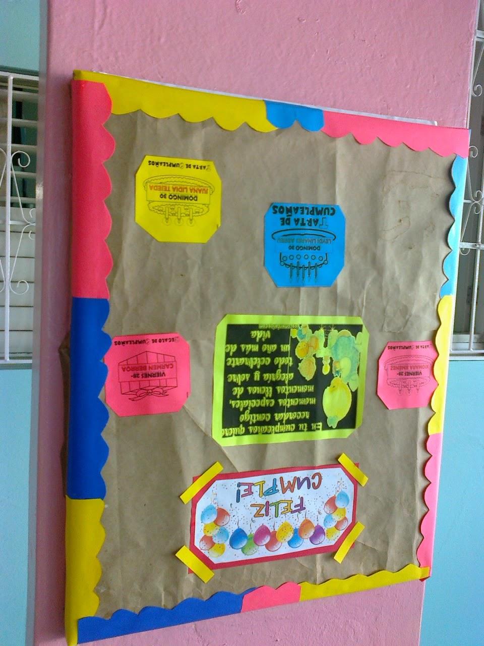 Entretenimientos infantiles decoraci n de mural for Como decorar un mural