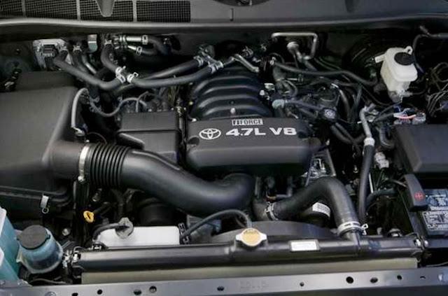 2017 Toyota Sequoia Diesel Engine