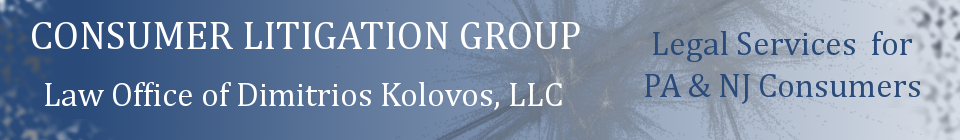 Consumer Litigation Group Blog