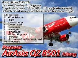 Pesawat AirAsia QZ8501 Hilang
