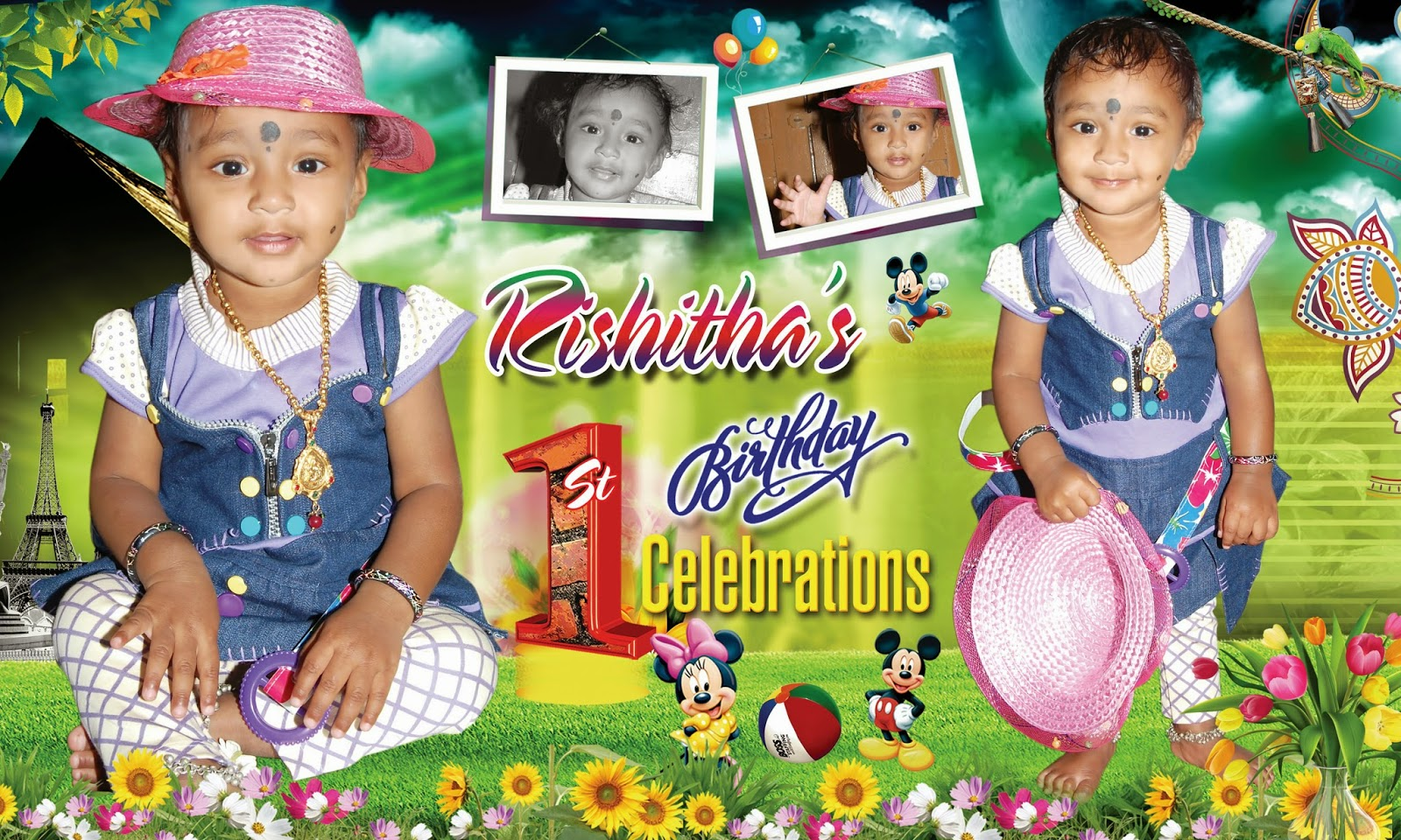 Birthday flex banner design image - ABHAYA ADS | Flex Printing