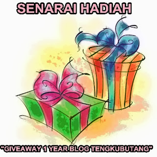 SENARAI+HADIAH+GIVEAWAY+1+YEAR+TENGKUBUTANG