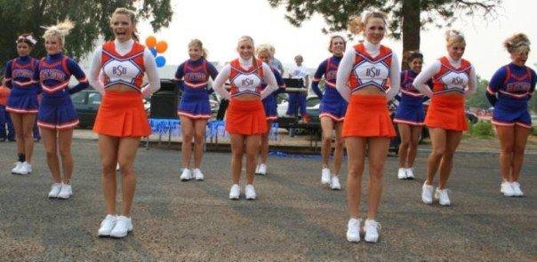 Boise State Cheerleading